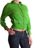 DSQUARED2 Women's Green Cotton Sweatshirt.