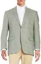 Lauren Ralph Lauren Two-Button Linen Jacket