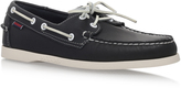 Sebago Dockside Boat Shoe In Navy