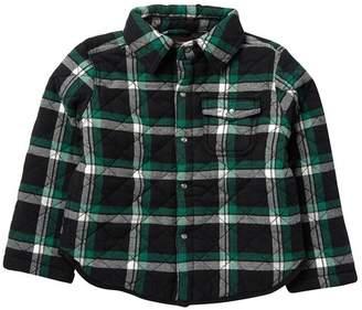 Joe Fresh Quilted Flannel Jacket (Toddler & Little Boys)
