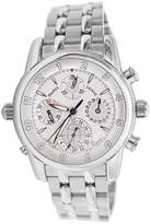 Maurice Lacroix Masterpiece Chrono Globe Men's 43mm Date Watch MP6398-SS002-831