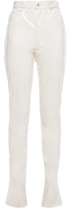 Maison Margiela Vinyl Slim-leg Pants
