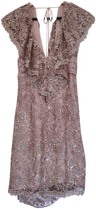 Spell & The Gypsy Collective Beige Polyester Dresses