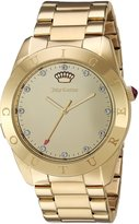 Juicy Couture Women's 'Connect' Quartz Tone and Plated Casual Watch(Model: 1901500)