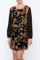 Only Hearts Velvet Tapestry Dress