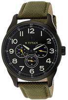 Titan Purple Analog Dial Men's Watch 9479AF02