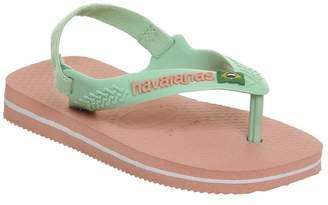 Havaianas Baby Brazil Sandals Silk Rose