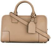 Loewe embossed logo shoulder bag - women - Leather - One Size