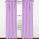 Eclipse Kids Polka Dots Rod-Pocket Thermal Blackout Curtain Panel
