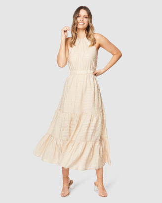 Pilgrim Women's Neutrals Maxi dresses - Reina Midi Dress - Size One Size, 10 at The Iconic