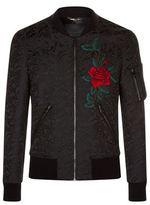 Dolce & Gabbana Baroque Embroidered Bomber Jacket