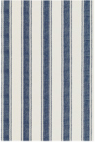 Dash & Albert Blue Awning Stripe Rug - 244x305cm