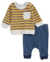 Nordstrom Stripe T-Shirt & Pants Set