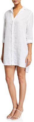 Frank And Eileen Hunter Long-Sleeve Shirtdress