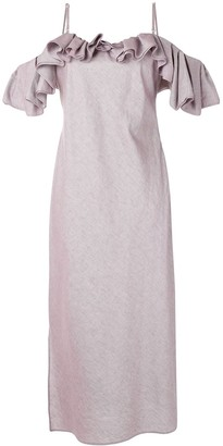Jacquemus La Robe Pampelonne dress