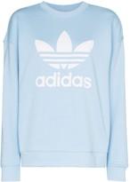 adidas logo-print sweatshirt