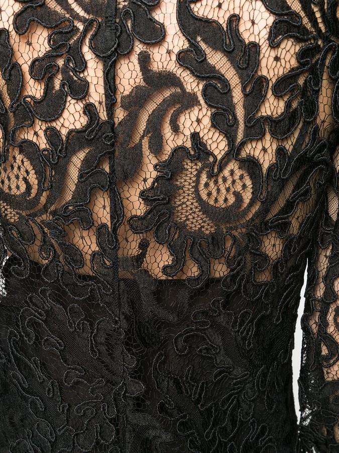 Thumbnail for your product : Saint Laurent Lace Shirt Dress