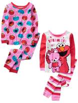 Crazy 8 Sesame Street 2-Piece Pajamas 2-Pack