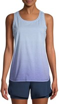 Athletic Works Women's Performance Active Ombre Stripe Tank Top