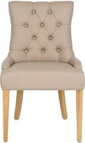 Safavieh Taupe Maura Side Chair - Set of Two