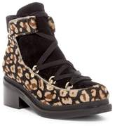 Miista Kristanna Genuine Pony Hair Utility Boot
