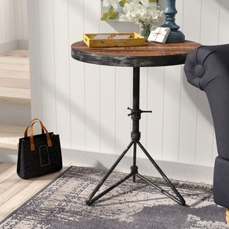 Laurel Foundry Modern Farmhouse Fromberg Adjustable Round End Table
