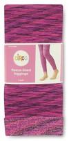 Circo Girls' Fleece Lined Leggings Purple