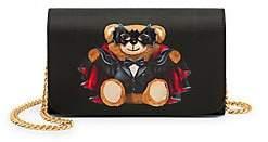 Moschino Women's Vampire Bear Wallet-On-Chain