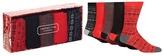 Red Herring Set Of Five Festive Socks Gift Box