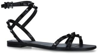 Valentino Garavani Leather Rockstud Sandals