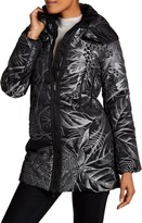 Desigual Double Stand Up Collar Lined Jacket