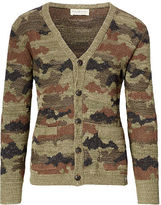 Denim & Supply Ralph Lauren Camo Cotton V-Neck Cardigan
