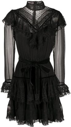Zimmermann Ruffled Lace Dress