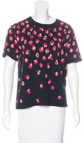 Kate Spade Short Sleeve Patterned Top