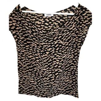 Nicole Farhi Beige Silk Top for Women
