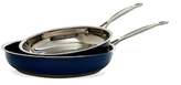 "Cuisinart Stainless Steel 8"" & 10""Skillet Set"