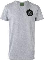 Amen logo patch T-shirt - men - Cotton/Polyester/Metal (Other)/glass - 48