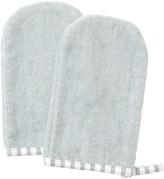 Indigo Baby IndigoBaby Bath Mitt 2-Pack - Grey Stripe