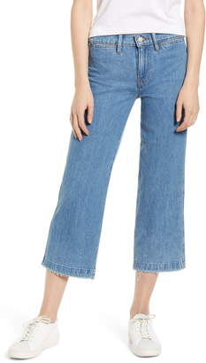 Lucky Brand Cropped Wide Leg Jeans