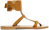 K Jacques St Tropez Caravelle leather sandals