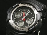 Casio Men's G-Shock AW590-1A Resin Analog Quartz Watch