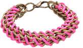 Chain Silk Weave Bracelet