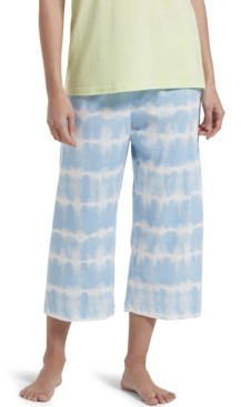 Hue Tie Dye Stripe Capri Pajama Pants, Online Only