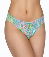 Hanky Panky Lilly Pulitzer Signature Lace Original Rise Thong