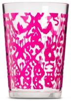 Mudhut Ikat 16oz Plastic Tumbler - Pink