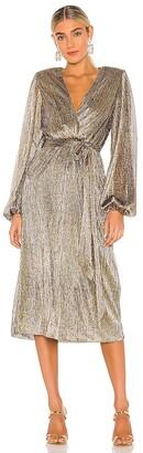 Rebecca Vallance Rivero Long Sleeve Midi Dress