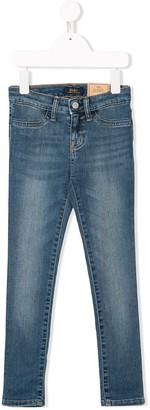 Ralph Lauren Kids Slim Faded Jeans