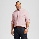 Merona Men's Big & Tall Long Sleeve Button Down Shirt