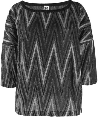 M Missoni Boat Neck Sweater