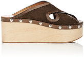 Isabel Marant Women's Zipla Suede Clog Sandals